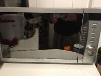 CookWorks Signature Microwave excellent condition in central London