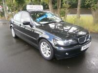 05 BMW 320 2.0TD 2005MY d ES in Black