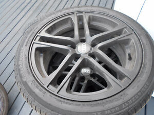 Audi A4, A6 rims and summer tires 225/45/17