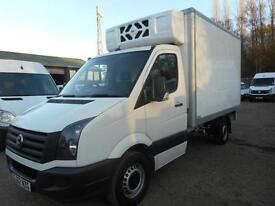 2012 VOLKSWAGEN CRAFTER CR35 2.0 TDI 136 REFRIDGERATED BOX WITH OVERNIGHT REFRIG