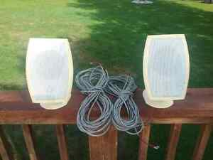 Out side speakers