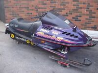 96 AND 89 SKIDOOS FOR SALE