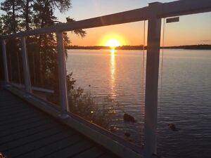 Lakefront cottage with guest cabin NEW REDUCED PRICE