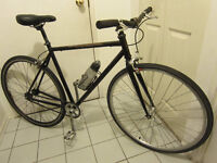 Single speed/fixed gear Kona with Cro-Mo frame and 700C whills
