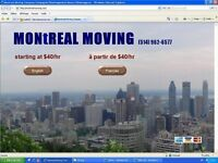 DEMENAGEMENT MONTREAL MOVING 514 962-6577