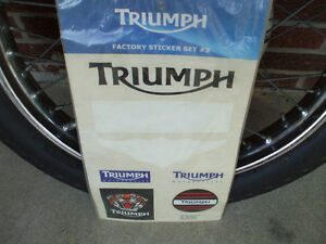 60's+ Triumph front wheel Stratford Kitchener Area image 7