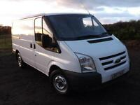2007 FORD TRANSIT SWB low roof 1 owner VERY LOW MILEAGE Jan 2018 MOT