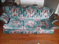 A big nice couch and its chair