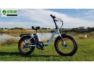 ANTEBIKE FAT TYRE FOLDING E-BIKE
