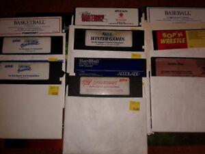 Apple II Game Disks