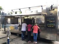 Catering trailer 22ft , stainless steel, twin hatch