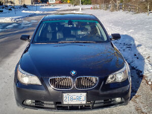 2006 BMW 525 Sports Package / Premium Stereo / Navigation system