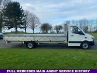 Mercedes Sprinter 313Cdi 3.5t. 20ft (6M.) ***EXTRA LONG *** Dropside Body