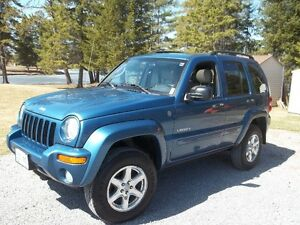2004 Jeep Liberty LTD   CERTIFIED- WOULD TRADE FOR TRUCK