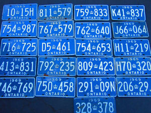 COOL OLD LICENSE PLATE FOR SHOP, MAN CAVE OR SIGN DECOR Only $10 Kitchener / Waterloo Kitchener Area image 2
