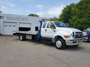 2011 ford f650 turbo diesel tow truck