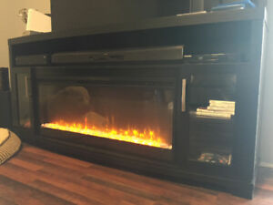 Media stand/electric fireplace