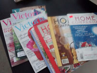 PRICE REDUCED Approx 40 HOME and Victoria magazines - Abbotsford