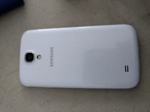 Samsung Galaxy S4 with case and cord
