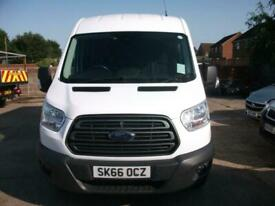 2016 66 Plate Ford Transit 350 L2H2. 125 BHP Trend model. Crew van. 7 Seater.