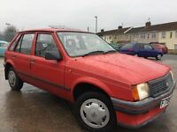 Vauxhall nova 1.2 merit 34000 miles new mot in one family from new 895