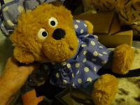 """Mother Berenstain Bear,  16"""",  clean ,soft,1996,great for values"""