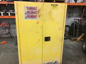 Just-Rite flammable storage cabinet