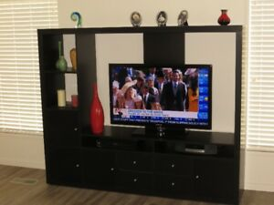 """IKEA TV STAND - - WILL TAKE UP TO 50"""" TV"""