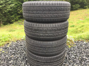 Four Continental 235/55R17 Summer Tires Excellent Tread