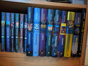 15 Books!! - Warriors by Erin Hunter