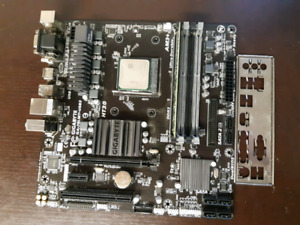 AMD-8350 with motherboard and 8GB ddr3 1600mhz