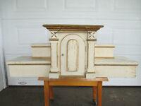 Table d'hôtel tabernacle antique en pin