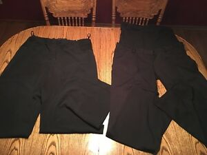 2 Plus Size TALL Maternity Dress Pants/Trousers, size 18 & 20