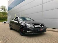 2015 15 reg Mercedes-Benz C250 CDI AMG Sport Plus Coupe + Auto + Nav + BIG Spec