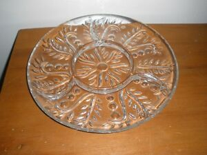 cut glass serving dishes