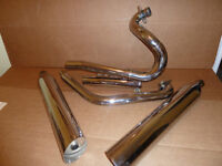 Victory Exhaust System-stock