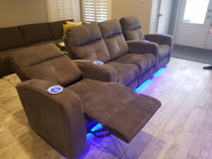 Designer Motorized Home Theatre Seating /Recliners