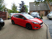 2016 Ford Focus 2.0TDCi ( 150ps ) Zetec S Red Edition ( 8000 MILES ! )