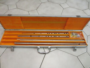 Stainless Steel Chinese Flute (Dizi) Set, with an Aluminum Case