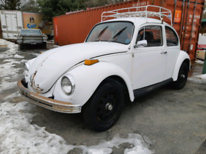 1972 VW Super Beetle Originally California Car