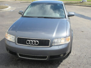 2003 AUDI A4  QUATTRO-AWD-1.8L TURBO SUNROOF LEATHER HEATED SEAT
