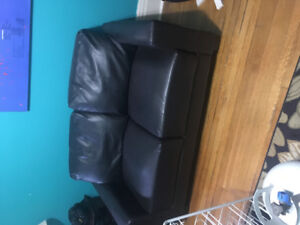 Couches, desk, filing cabinet , chairs