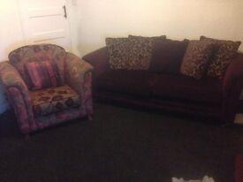 £100 for 2 sofas BARGAIN
