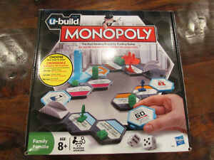 MONOPOLY....... NEW,......U BUILD EDITION