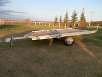 2010 14 FOOT TRITON SKI-DOO TRAILER