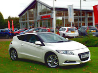2014 Honda CR-Z 1.5 GT Hybrid Coupe, Premium White, Grey Leather, Glass Roof