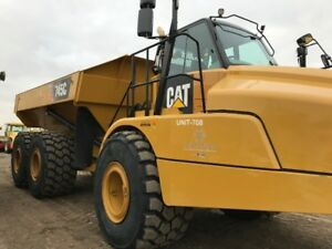 2015 CAT 745C ADT Rock Truck for Rent