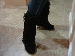 New Designer Boots-  Ladies size 7  - Ladies size 8 Strathcona County Edmonton Area image 3