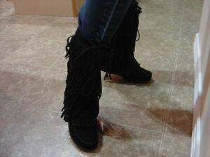 New Designer Boots-  Ladies size 7  - Ladies size 8 Strathcona County Edmonton Area image 3