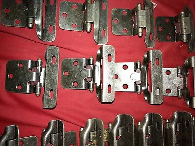 Wrap Self Closing Cabinet Hinge (20 Pair *40*Hinges Partial Wrap Self Closing Cabinet Hinge.. 3/8 Overlay )